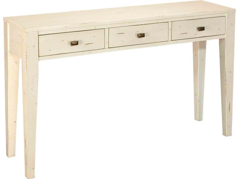 Accents Beyond Furniture 3 Drawer Console 1480-W