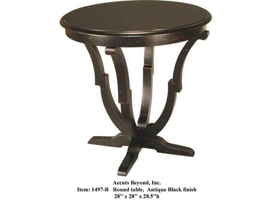 Accents Beyond Furniture Living Room Round table