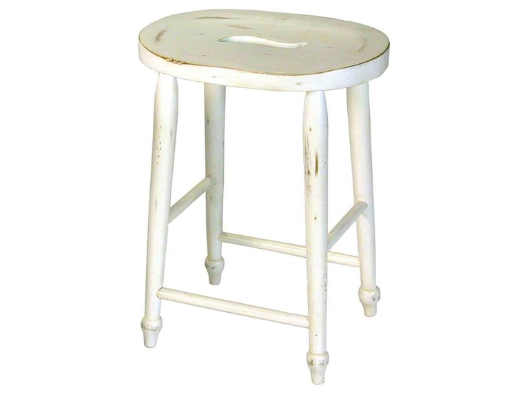 Accents Beyond Furniture Counter Stool 2418-W