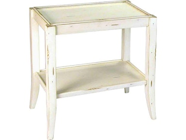 Accents Beyond Furniture Living Room 2-Tier End Table