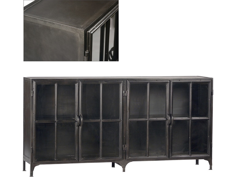 Dovetail Furniture York Metal Sideboard AI162
