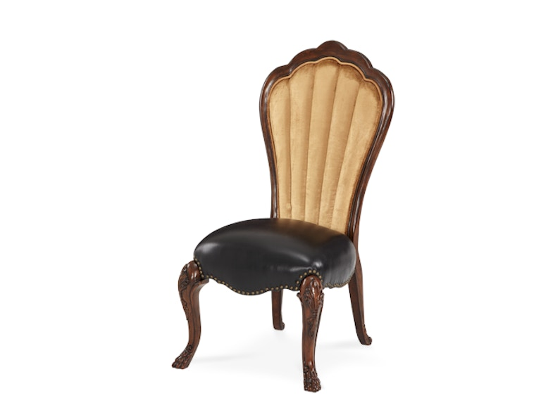 Aico Furniture Side Chair - Leather 02333-53