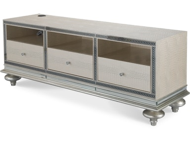 Aico Furniture Crystal Croc Entertainment Console 03097-09