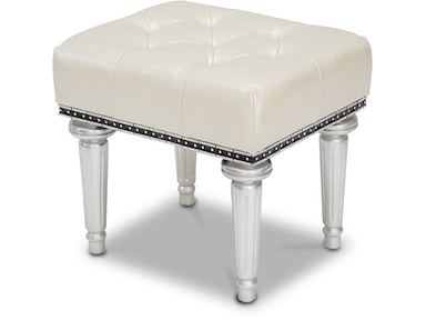 Aico Furniture Hollywood Swank Vanity Bench 03804-14
