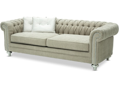 Aico Furniture Hollywood Swank Grp.2 Op.1 Sofa 03815-PLTNM-05