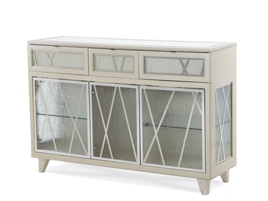 Aico Furniture Dining Room Pearl Caviar Sideboard
