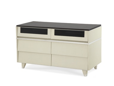 Aico Furniture Dining Room Pearl Caviar Media Cabinet