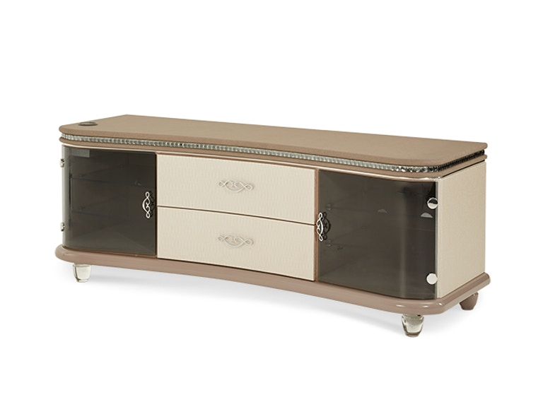 Aico Furniture Entertainment Console with Docking Station 08097-13
