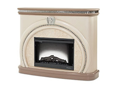 Aico Furniture Overture Fireplace Cristal 08220-13