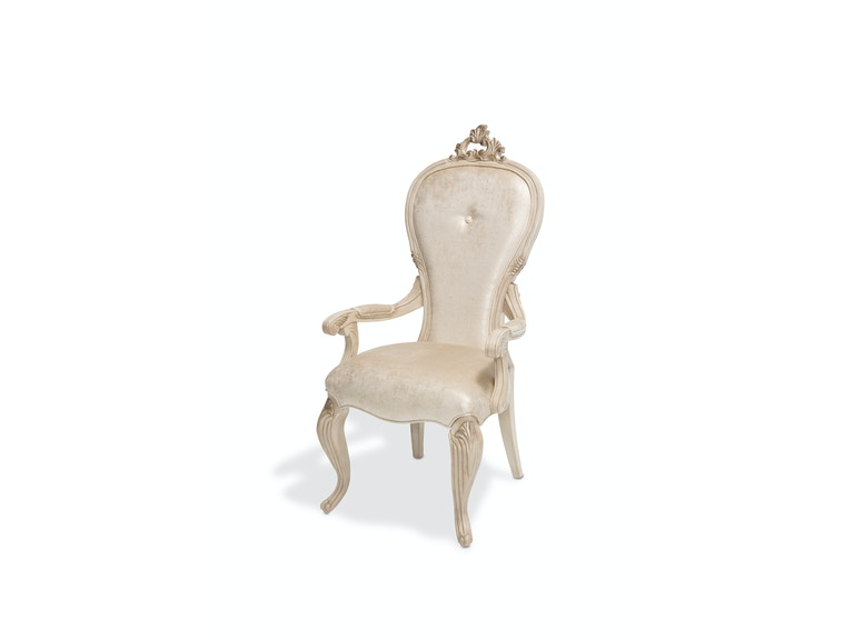 Aico Furniture Platine de Royale Arm Chair Champagne 09004-201
