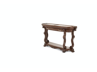 Aico Furniture Platine de Royale Console Table Light Espresso 09223-229