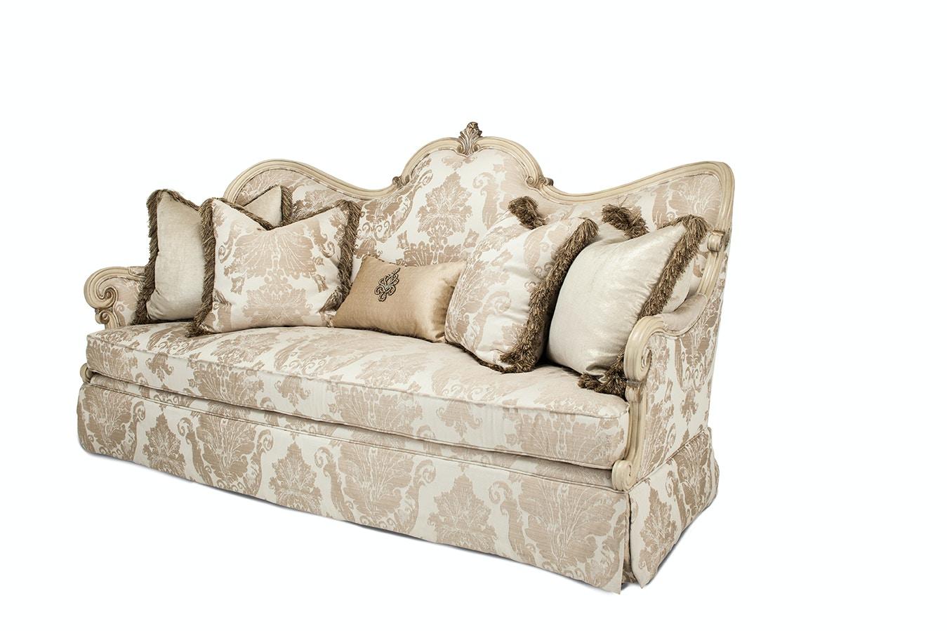 aico furniture platine de royale wood sofa