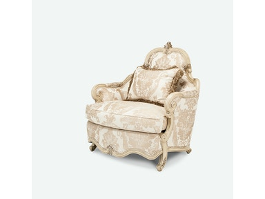 Aico Furniture Platine de Royale Chair & a Half Grp1 Opt1 Champagne 09838-CHPGN-201