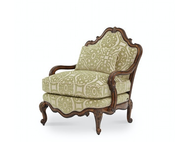 Aico Furniture Living Room Bergere Wood Chair