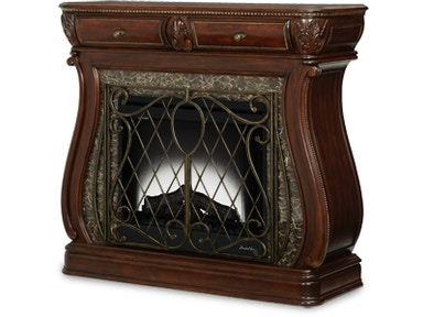 Aico Furniture Electric Fireplace (2 pc) 57220FPL-51