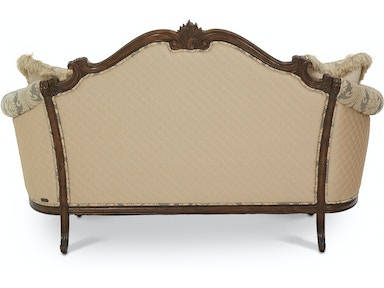 Aico Furniture Victoria Palace Wood Trim Settee 61864-DVGLD-29