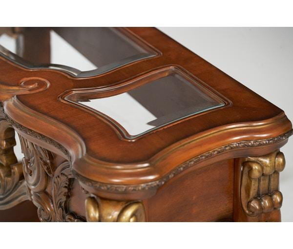 aico furniture chateau beauvais console table