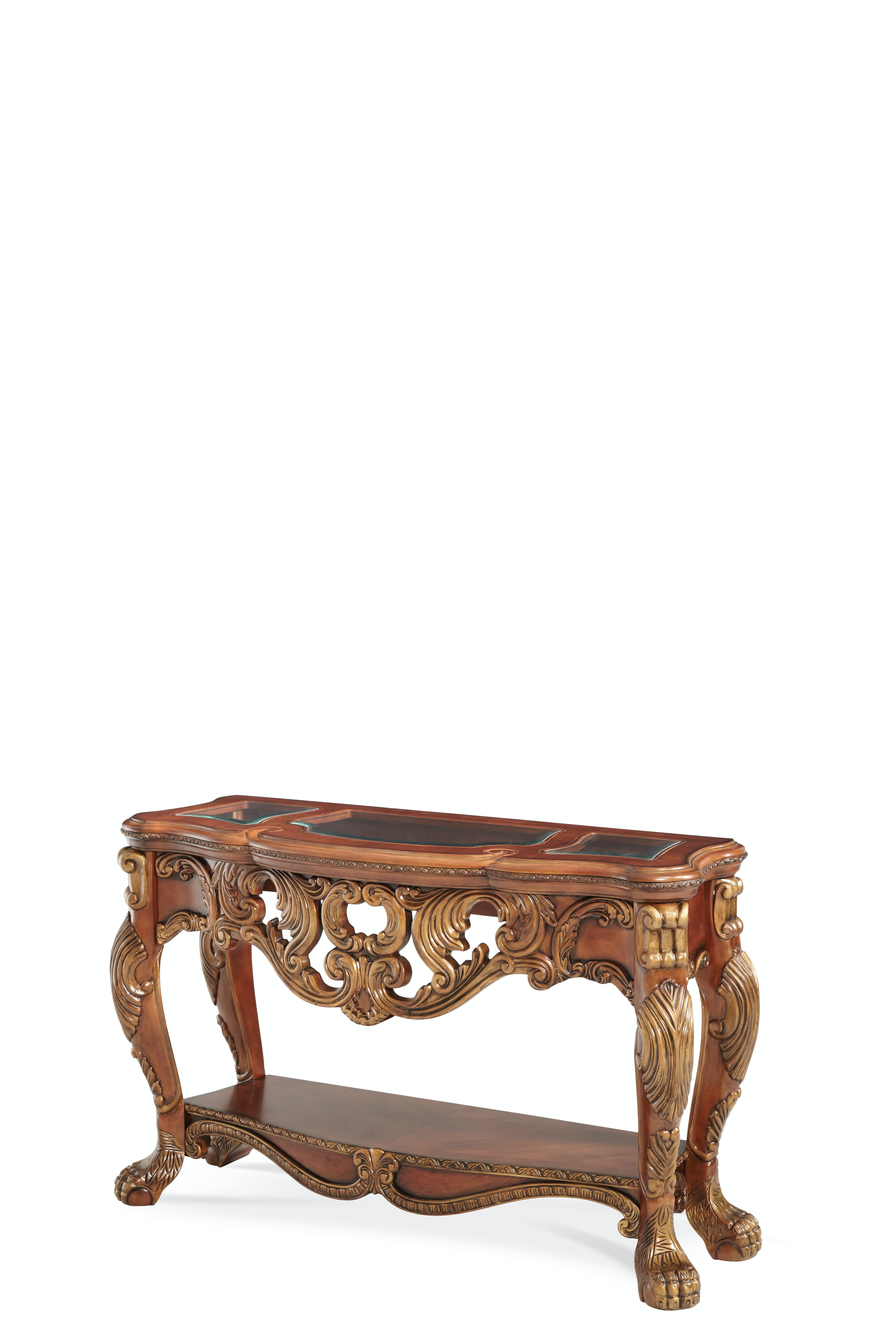 Lovely Aico Furniture Chateau Beauvais Console Table 75260 39