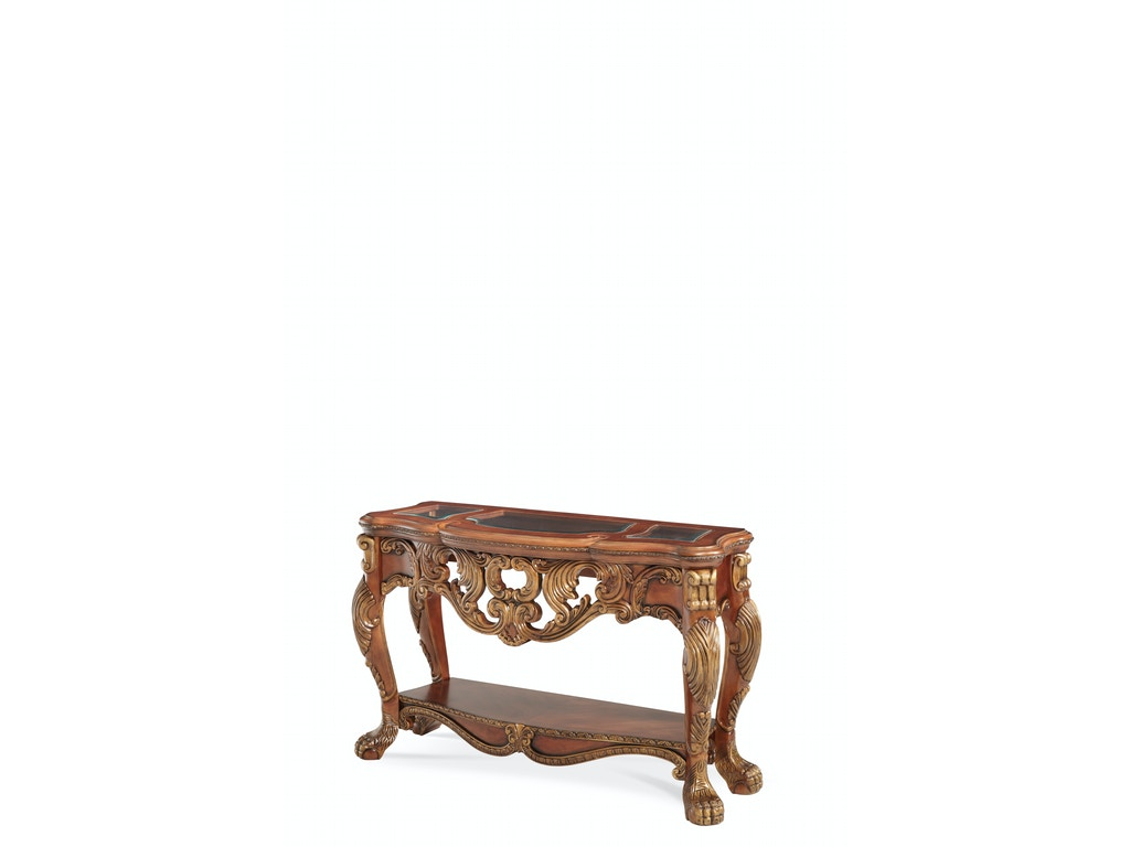 Aico furniture 75260 39 living room chateau beauvais console table aico furniture chateau beauvais console table 75260 39 geotapseo Image collections