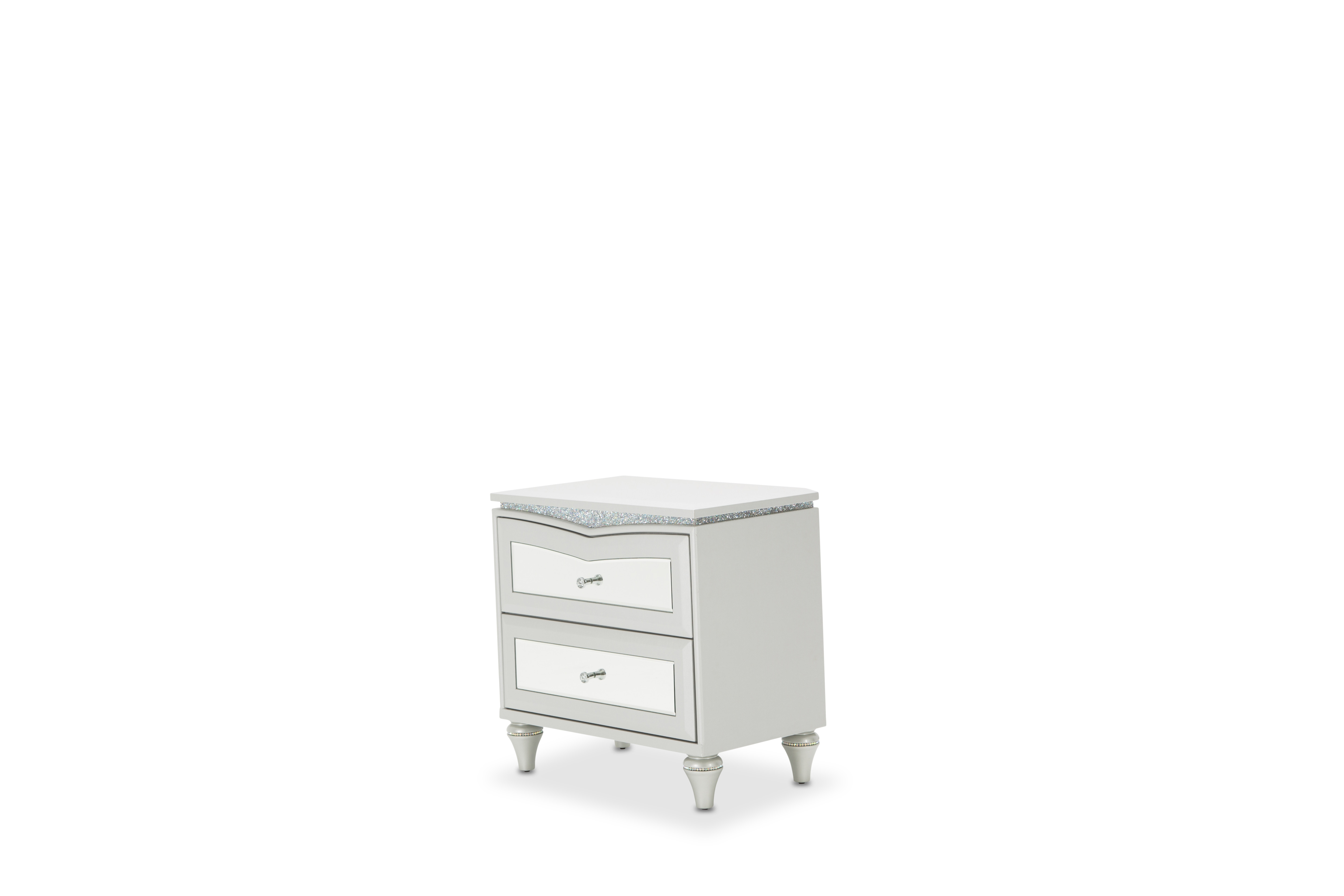 Good Melrose Furniture #18 - Aico Furniture Melrose Plaza Upholstered Nightstand 9019040-118