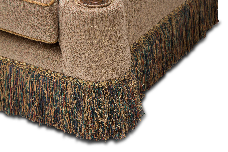 Aico Furniture Grand Masterpiece Mansion Sofa Opt 1 Royal Sienna  9050816 ANGLD 402