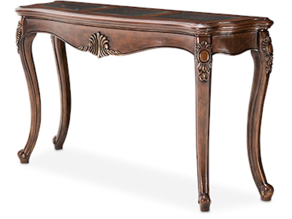 Aico furniture 9051223 202 living room bella veneto console table aico furniture bella veneto console table 9051223 202 geotapseo Image collections