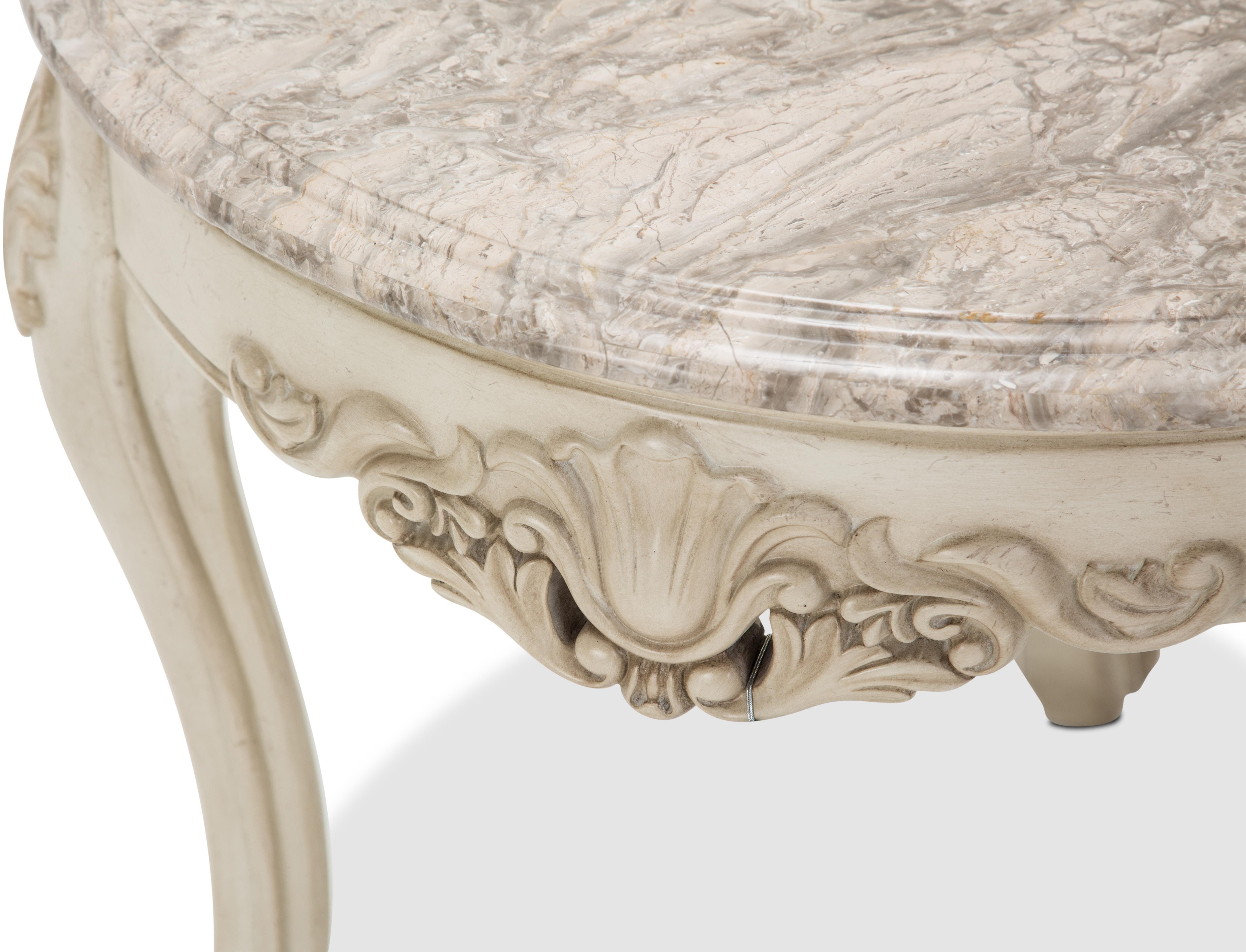Aico Furniture 115 Living Room Villa di o Marble End Table