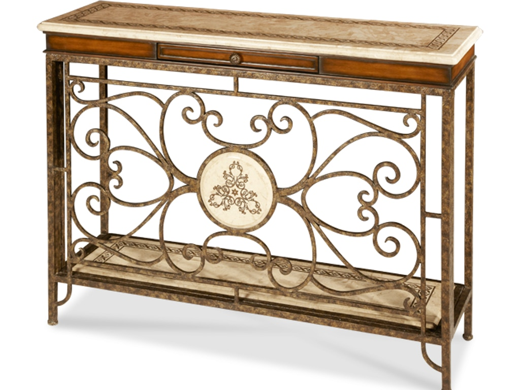 Aico furniture acf con vina 002 living room console table aico furniture console table acf con vina 002 geotapseo Image collections