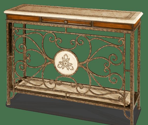 aico furniture console table