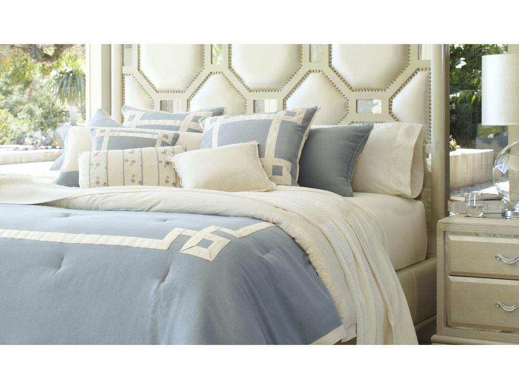 Aico Furniture Bcs Qs09 Brookf Air Bedroom Brookfield Queen Comforter Set Air