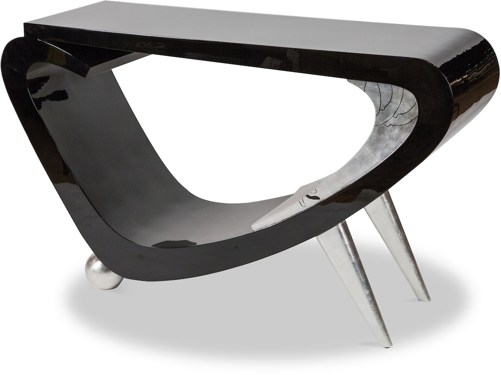 Aico furniture fs ilusn 049 living room illusions console table aico furniture illusions console table fs ilusn 049 geotapseo Image collections