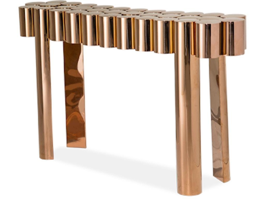Aico furniture fs latna223 801 living room la tania console table aico furniture la tania console table fs latna223 801 geotapseo Image collections
