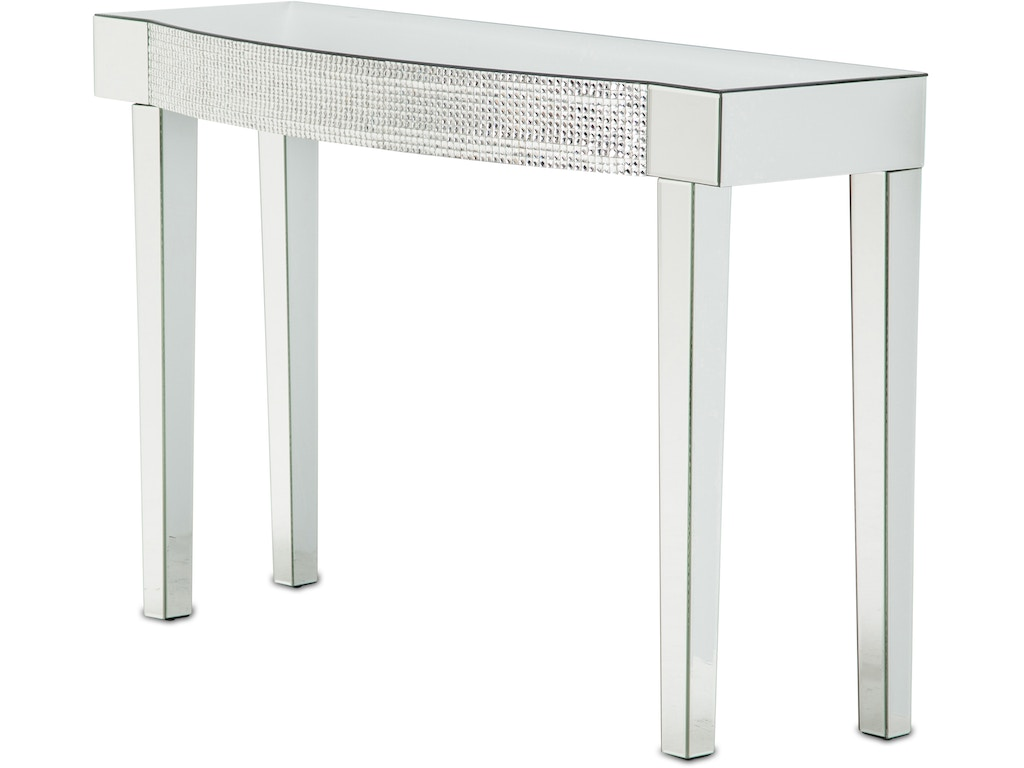 Aico furniture fs mntrl 1436 living room montreal mirrored console aico furniture montreal mirrored console table fs mntrl 1436 geotapseo Image collections