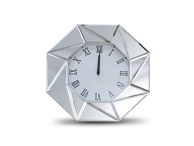 Aico Furniture Montreal Octagonal Shaped Clock FS-MNTRL-5040