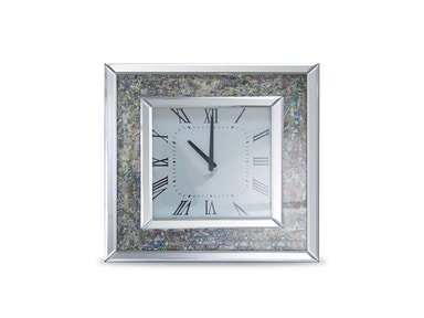 Aico Furniture Montreal Square Clock FS-MNTRL-5053