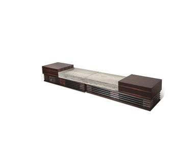 Aico Furniture Sergio TV Cabinet Base with o Marble FS-SRGIO095B