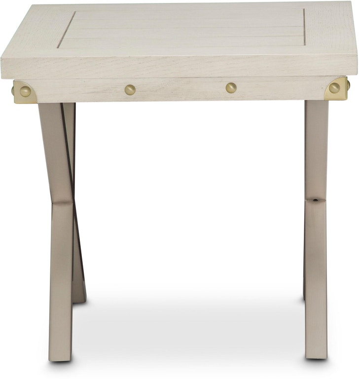 Ki Menp202 123 Aico Furniture Menlo Park End Table Eucalyptus Station