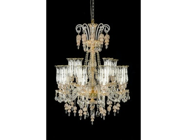 Aico Furniture Garnier 15 Light Chandelier LT-CH900-15GLD
