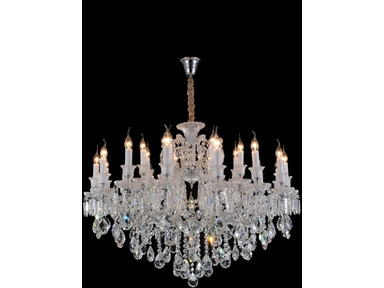 Aico Furniture Chambord 25 Light Chandelier LT-CH904-25CLR