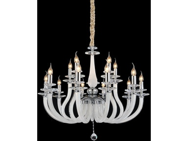 Aico Furniture San Marco 15 Light Chandelier LT-CH907-15OPL