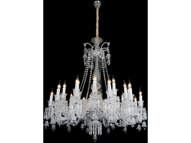 Aico Furniture Treviso 24 Light Chandelier LT-CH910-24CLR