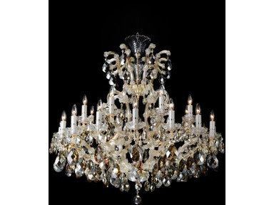 Aico Furniture La Scala 25 Light Chandelier LT-CH911-25CGN
