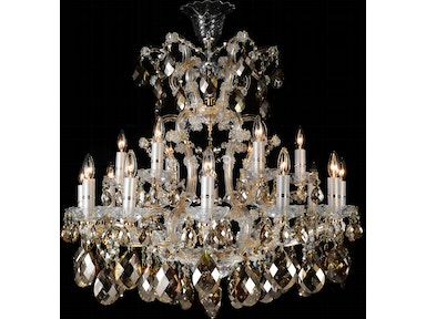 Aico Furniture La Scala 19 Light Chandelier LT-CH912-19CGN