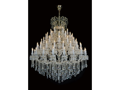 Aico Furniture Grand Versailles 45 Light Chandelier LT-CH915-45GLD