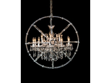 Aico Furniture Pena 15 Light Chandelier LT-CH921-15CLR