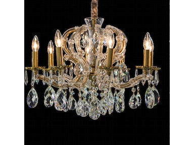 Aico Furniture Portola 8 Light Chandelier LT-CH925-8ABR
