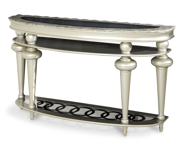 Aico Furniture Hollywood Swank Console Table NT03223 00