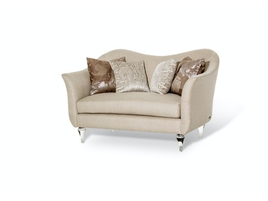 Aico Furniture Rodeo Loveseat ST-RODEO25-PLT-002