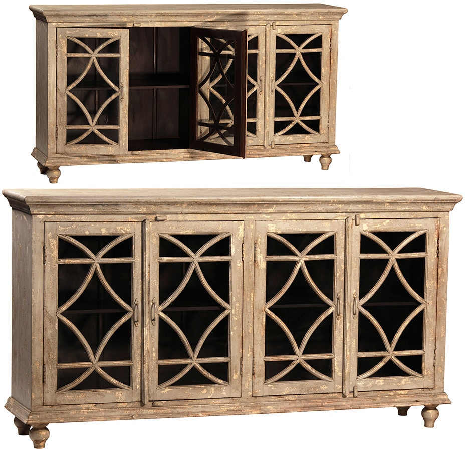 dovetail furniture aj139 dining room bacca sideboard 4 doors