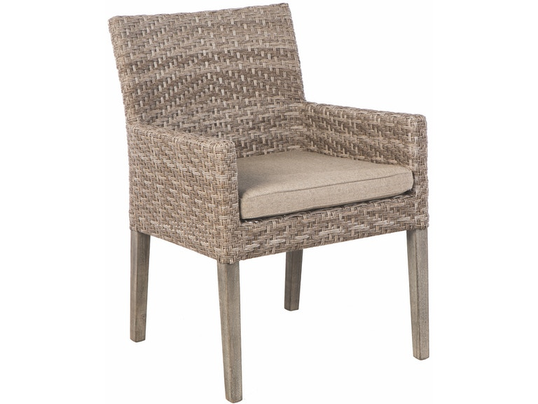 Alfresco Home 46-1200 OutdoorPatio Cornwall Dining Arm Chair
